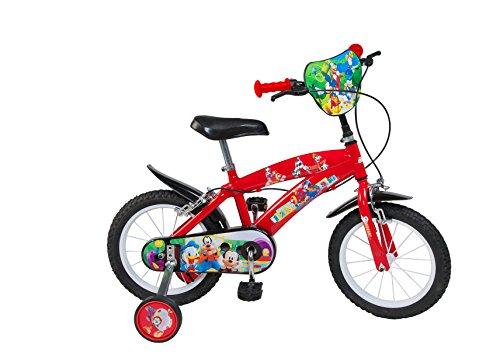 TOIMSA-Mickey Mouse para Bicicleta Infantil, 000386u