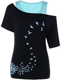 Y Amazon Ropa es Blusas Tops Blusas León Camisas Camisetas qqSfTtw1
