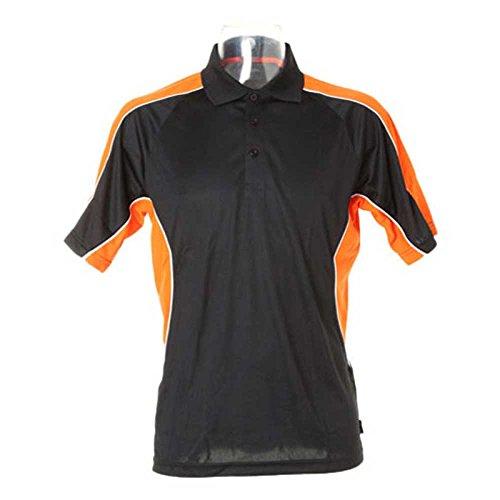 GamegearHerren T-Shirt schwarz - schwarz/orange