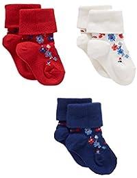 Mothercare Baby Girls' Socks (Pack of 3)