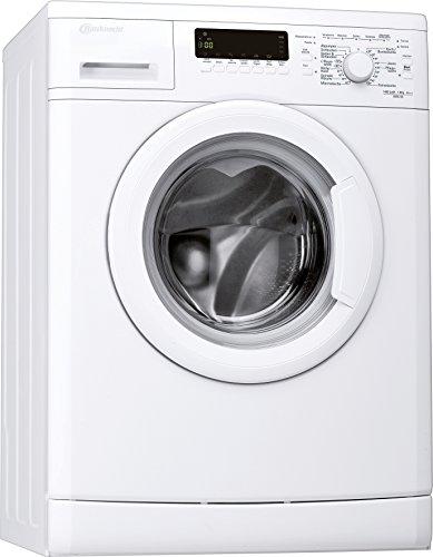 Bauknecht WAK 63 Waschmaschine FL / A+++ / 147 kWh/Jahr / 1400 UpM / 6 kg / 8200 L/Jahr / Mengenautomatik /Unterbaufähig / weiß