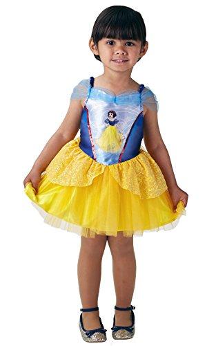 Rubie 's 640180s Offizielles Disney Princess Snow White Ballerina Kinder Kostüm–Größe 3–4Jahre, Höhe 104cm, ()