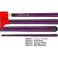 Valhalla by Viking VA107 Purple Pool Billard Queue, Gravur, Geschenk Idee