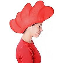 Sombrero de gomaespuma cresta