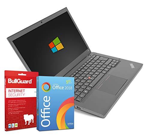 Lenovo ThinkPad T440p 14 Zoll HD Display Laptop Notebook - Intel Core i5-4210M 2X 2,6 bis 3,2 GHz Turbo 4 GB DDR3 500 GB HDD DVD-Brenner - Windows 10 Home 64 Bit