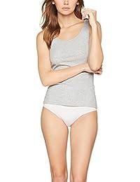 Iris & Lilly Camiseta de tirantes Soft Stretch, Pack de 3