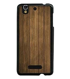 Wooden Pattern 2D Hard Polycarbonate Designer Back Case Cover for YU Yureka :: YU Yureka AO5510