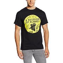 5 Seconds Of Summer Scribble Logo - Camiseta Hombre