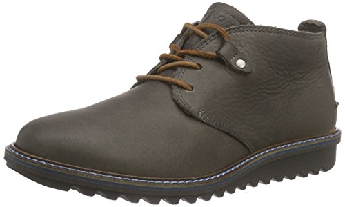 Ecco Damen Elaine Flatform Chukka Boots, Braun (Warmgrey/Whisky 58902), 40 EU