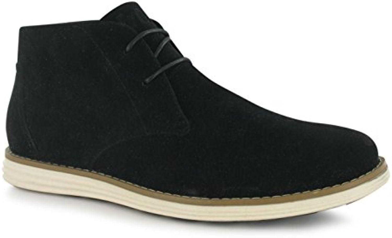 Lee Cooper Fabric Suede Herren Wildleder Schuhe Chukka Boots Stiefeletten