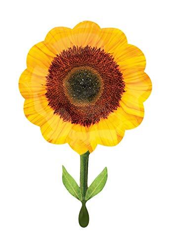 olienballon - Sonnenblumen Motiv - 73cm Super Shape - perfekte Geschenkideen zum Geburtstag Valentinstag Hochzeit, Party Dekoration, Gelb ()