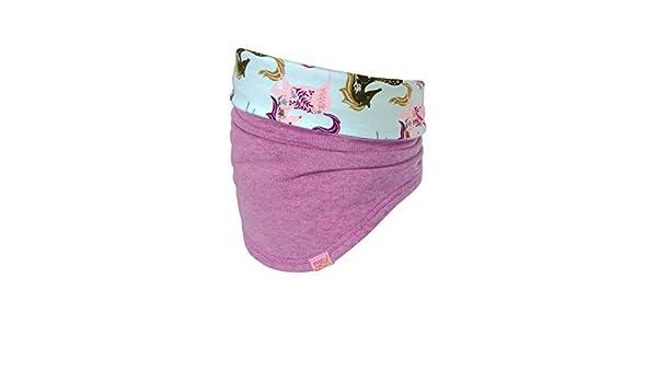 Pinkmeliert 85 maximo Unisex Baby Halsw/ärmer aus Jersey mit Pferden Schal Rosa 2 Herstellergr/ö/ße: 2