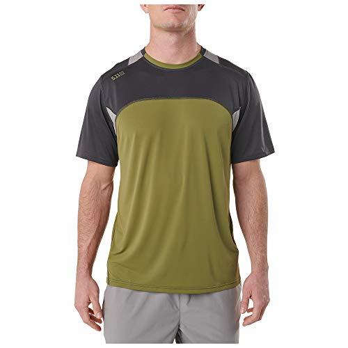5.11 Tactical Series 511-82113 T-Shirt de Sport Homme, Volcanic, FR : M (Taille Fabricant : M)