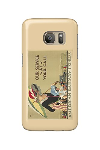 american-railway-express-vintage-poster-artist-lee-usa-c-1925-galaxy-s7-cell-phone-case-slim-barely-