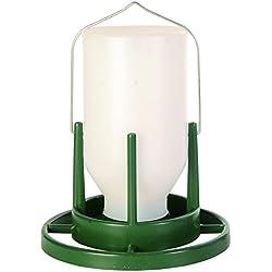 Distributeur de nourriture de volière, 1.000 ml/20 cm - garde la nourriture propre et sèche