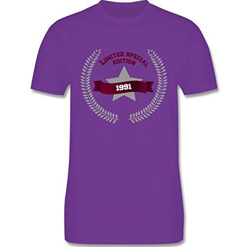 Geburtstag - 1991 Limited Special Edition - Herren Premium T-Shirt Lila
