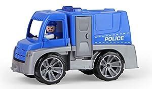 Lena TRUXX 04445 vehículo de Juguete - Vehículos de Juguete (Negro, Azul, Gris, Camión, De plástico, Police, Interior / Exterior, 2 año(s))