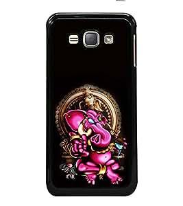 ifasho Designer Back Case Cover for Samsung Galaxy J1 (6) 2016 :: Samsung Galaxy J1 2016 Duos :: Samsung Galaxy J1 2016 J120F :: Samsung Galaxy Express 3 J120A :: Samsung Galaxy J1 2016 J120H J120M J120M J120T (Ganesh Lima Spiritual T Shirts Firozpur)