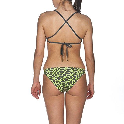 ARES5 Damen Arena Trainings Carbonics Bikini shadow grey-leaf