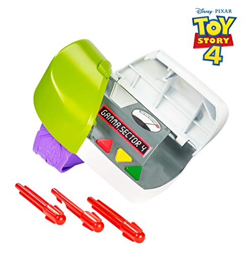 Mattel GDP79 - Disney Pixar Toy Story 4 Buzz Lightyear Armband mit Kommunikator, Kostüm Zubehör und Rollenspiel Spielzeug ab 3 Jahre (White Ranger Kostüm Kinder)