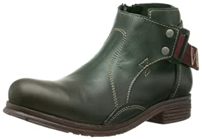 Fly London Womens Sirk Chelsea Boots P143084006 Green 4 UK, 37 EU