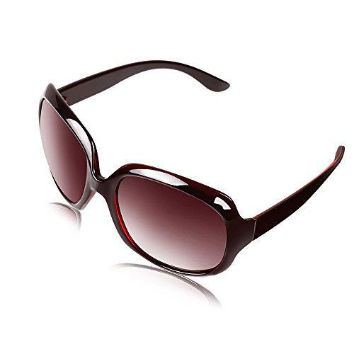 BLDEN Occhiali Da Sole Da Donna Scatola Grande Moda Occhiali Polarizzati Protezione UV400 Aviator