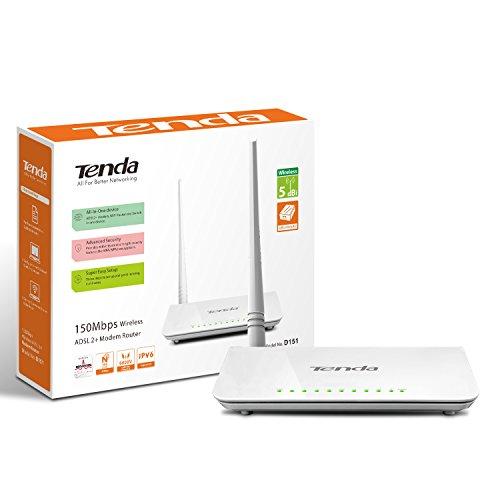 TENDA TE-D151 Wireless N150 ADSL2+ modem router