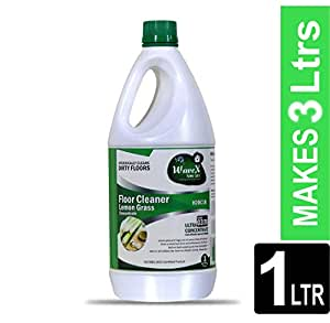WaveX Floor Cleaner Liquid Lemon Grass Concentrate - 1 L