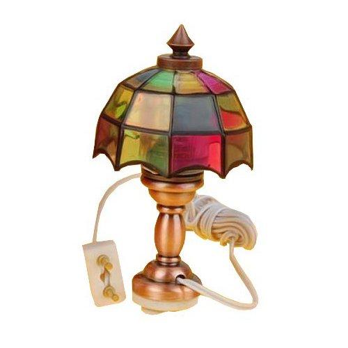 1/12 Puppenhaus Miniatur Hübsche Farblicht Schreibtisch Tabelle Leselampe TL013A