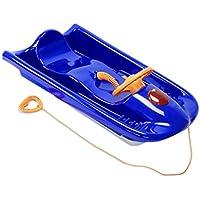 KHW Rodel Snow Flyer Deluxe - Deslizador de nieve, color azul/naranja