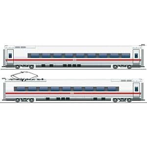 Fleischmann 448281 Set complémentaire ICE BR 407 DB AG, H0, 2 pièces 2 wagons