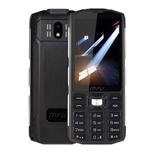 Bascar MFU A905 3,5 Zoll 4000 mAh Energienbank Tri SIMTelefon mit Großer Lautstärke und Drahtloser FM Funktion Super Taschenlampe Tri SIM (Standard) Dual-Standby Bar Telefon SpreadTrum Feature Phone