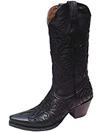 Clothing, Shoes & Accessories Boots Smart Mezcalero New Orleans Westernboots Cowboy Stiefel Damenstiefel Handgefertigt Neu