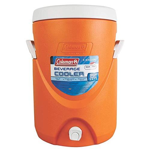 Coleman 5-Gallon Getränke Kühler, Unisex, Orange… | 00730707293244