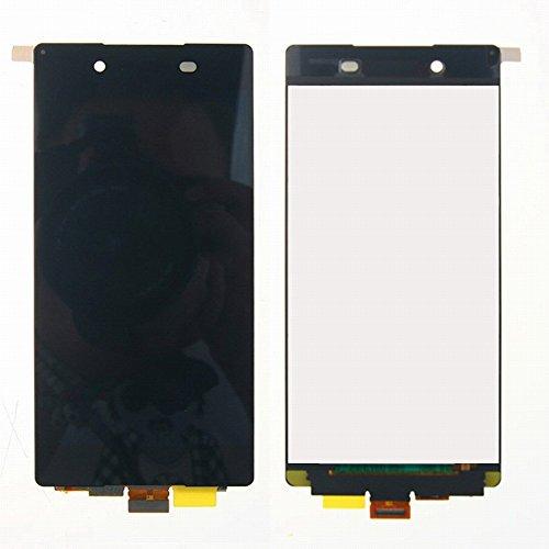 Sony Xperia Z3+ Z3 Plus Z4 E6553 E6533 LCD Display Schermo Vetro Digitizer Touch Screen Assemblato di Ricambio e Gratis Kit Utensili (Nero)