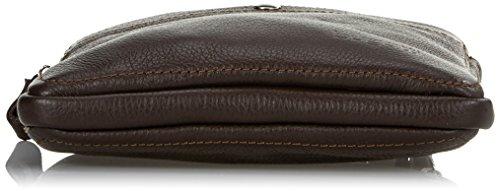 Bugatti Brisbane borsa a tracolla pelle 22 cm marrone