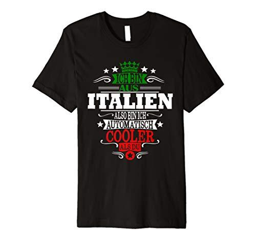 Aus Italien also Cooler - Italiener T-Shirt Forza Italia