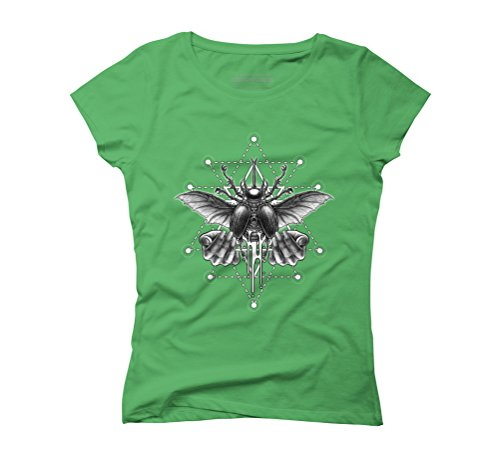 Winya No. 103 Women's Graphic T-Shirt - Design By Humans Green