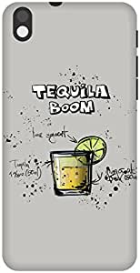 The Racoon Grip Gray Tequila Boom hard plastic printed back case / cover for HTC Desire 816