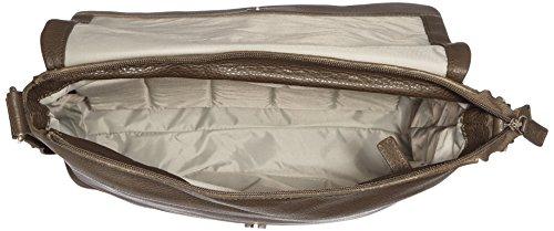 Leonhard Heyden, Jost Adult Vika Shoulder Bag, Sac bandoulière mixte adulte - Noir-V.6, Small vert mousse