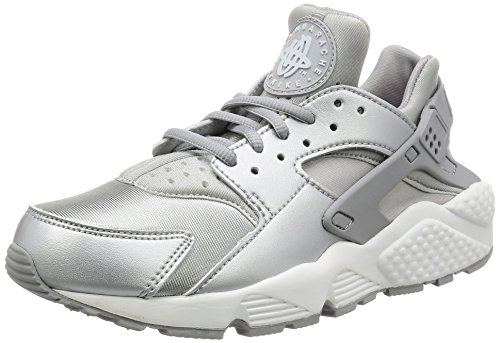 Nike Air Huarache Run Special Edition, Low-Top femme Silber