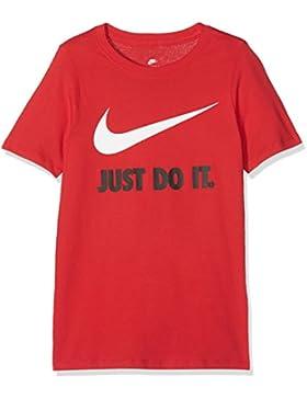 Nike JDI Swoosh YTH Camiseta, Sin género, Rojo, L