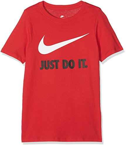 Nike Jungen JDI Swoosh T-Shirt, University Red/(White), XS
