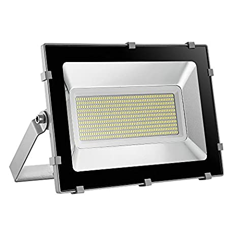 Viugreum 300W LED Outdoor Floodlight, Waterproof IP65, 36000LM, Daylight White(6000-6600K),