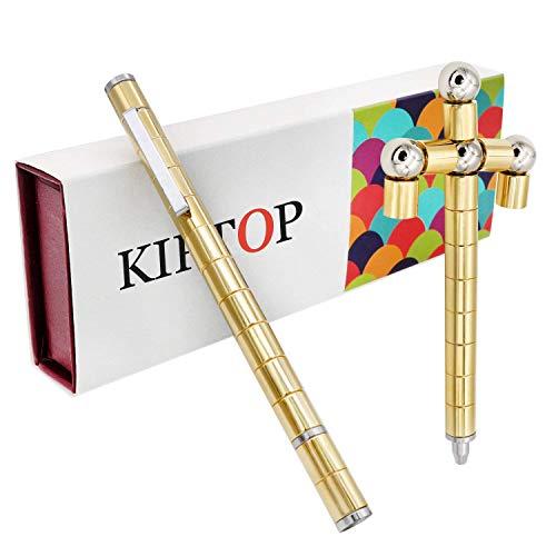 KIPTOP Magnetstift Interessantes Kombinationsspielzeug | Wunderbaren Magnetischer Kugelschreiber | Fidget Toy Geschenk | Stylus Stift | kre...