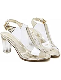 Amazon Vestir Zapatos Sandalias Para Pegamento es De Mujer A61wqrHA 7b2f0e30c39