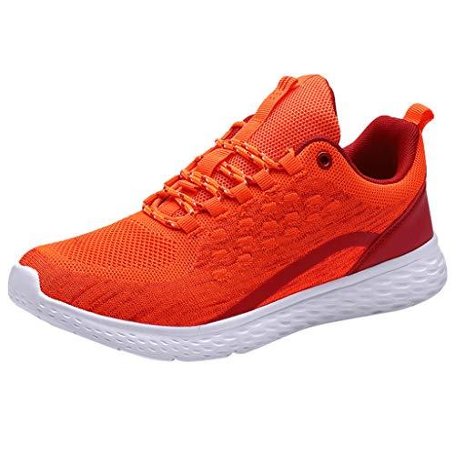 MMLC_Scarpe da Ginnastica Basse Uomo Donna Scarpe da Corsa Moda Unisex Sneakers Running Leggere e Traspirante