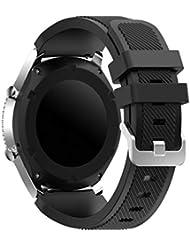 YaYuu Gear S3 Frontier/Classic Armband Ersatz Uhrenarmband Silikon Sportarmband