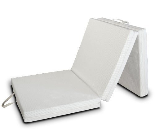 EvergreenWeb Futon EASY colchón, plegable, ahorro de espacio, plaza individual 80x200 cm