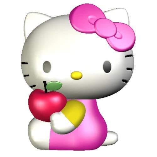 Hello Kitty Lampe LED à changement de couleur, 5 couleurs différentes avec changement automatique et flash